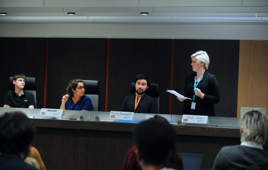 European human rights debating for sixth form students from across London