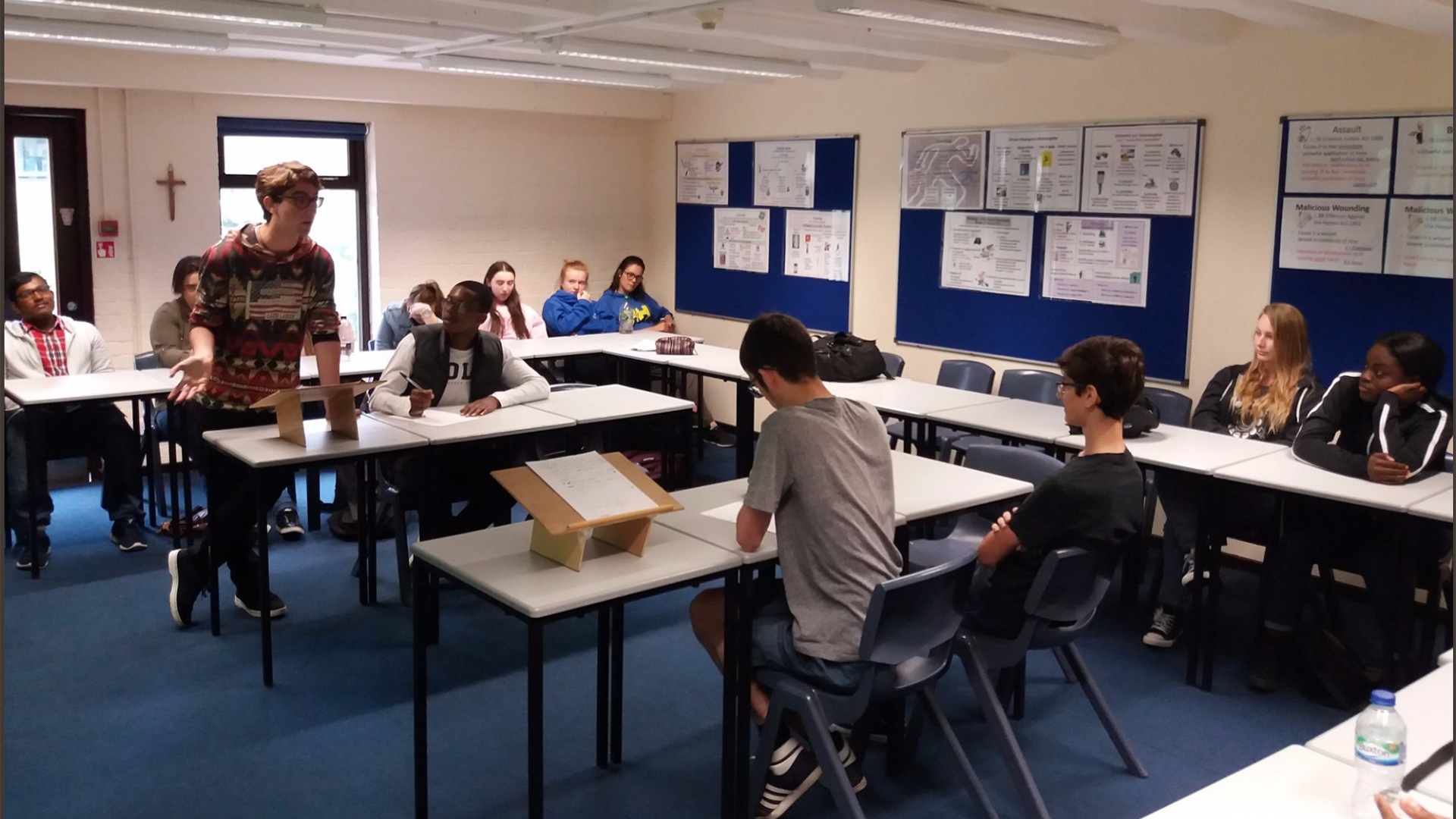 Knowing our rights workshop at St Dominic's 6th Form College (London)