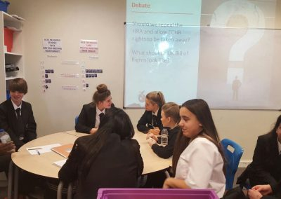 C8BL6RrXQAEeRN7 400x284 - Visiting your school, raising awareness about human rights