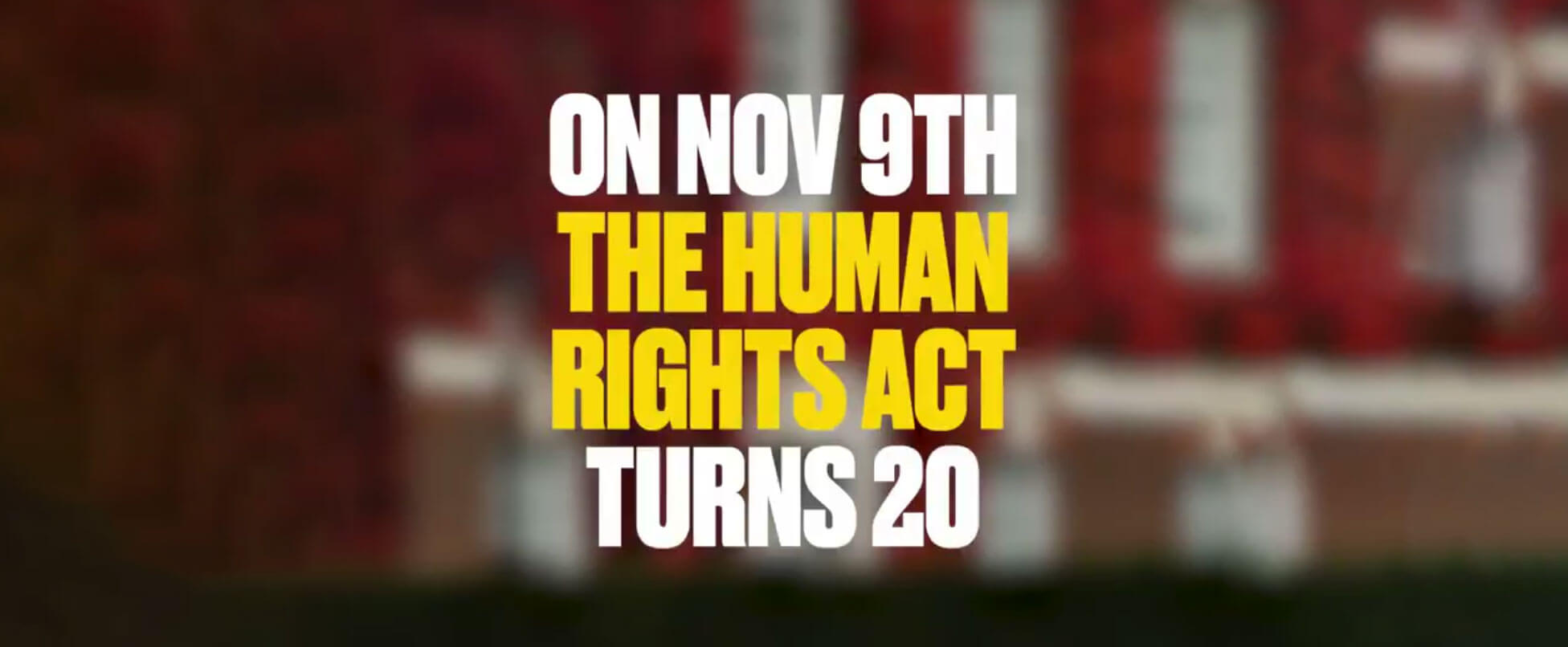 20 years of Human Rights Act