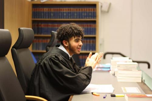 MTrial12 - Year 12 students take part in human rights workshop and mock trial