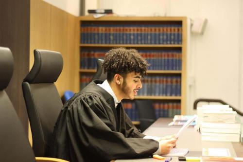 MTrial4 - Year 12 students take part in human rights workshop and mock trial