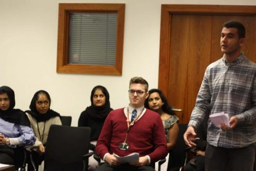 MTrial5 - Year 12 students take part in human rights workshop and mock trial