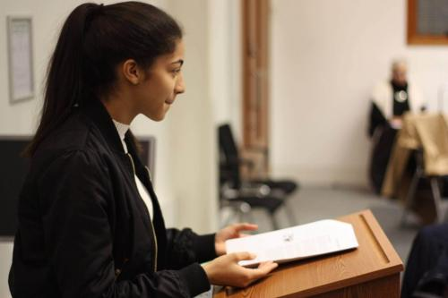 MTrial8 - Year 12 students take part in human rights workshop and mock trial