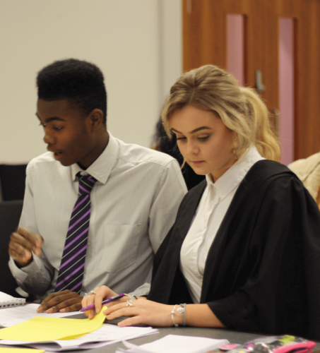 Trial1 - Year 12 students take part in human rights workshop and mock trial